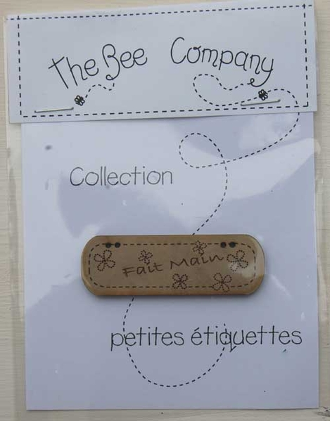 the bee company etiquette fait main tb4 le comptoir. Black Bedroom Furniture Sets. Home Design Ideas