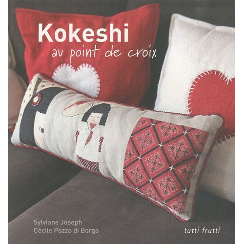 MIL - Kokeshi au point de croix