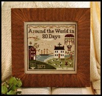 LITTLE HOUSE NEEDLEWORKS - Around the World in 80 Days
