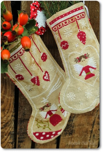 Madame Chantilly - Angels Christmas Stocking
