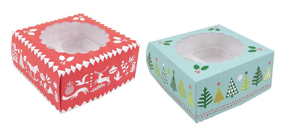 rico design boite cadeau cupcake de no l le comptoir des fees. Black Bedroom Furniture Sets. Home Design Ideas
