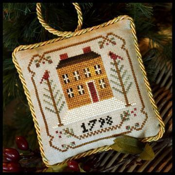 "LITTLE HOUSE NEEDLEWORKS - The Sampler Tree ""Old Colonial"""