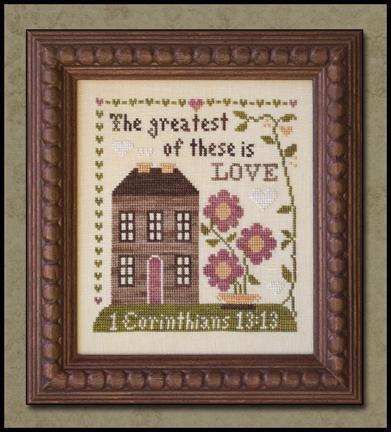 LITTLE HOUSE NEEDLEWORKS - First Corinthians