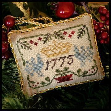 "LITTLE HOUSE NEEDLEWORKS - The Sampler Tree ""Three Crowns"""