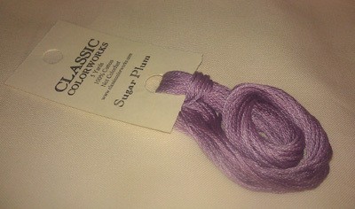 CRESCENT COLOURS COTON - Sugar Plum
