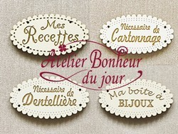 Collection Messages Dentelle