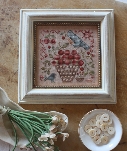 BLACKBIRD DESIGNS - Basket of Cherries