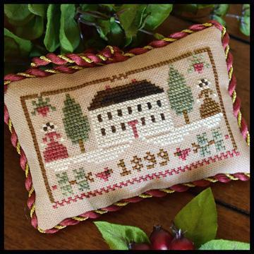 "LITTLE HOUSE NEEDLEWORKS - The Sampler Tree ""Christmas in The Country"""