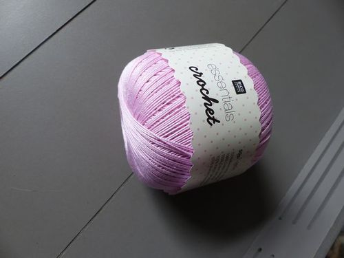 Rico Design - Essentials Crochet coloris Rose 21