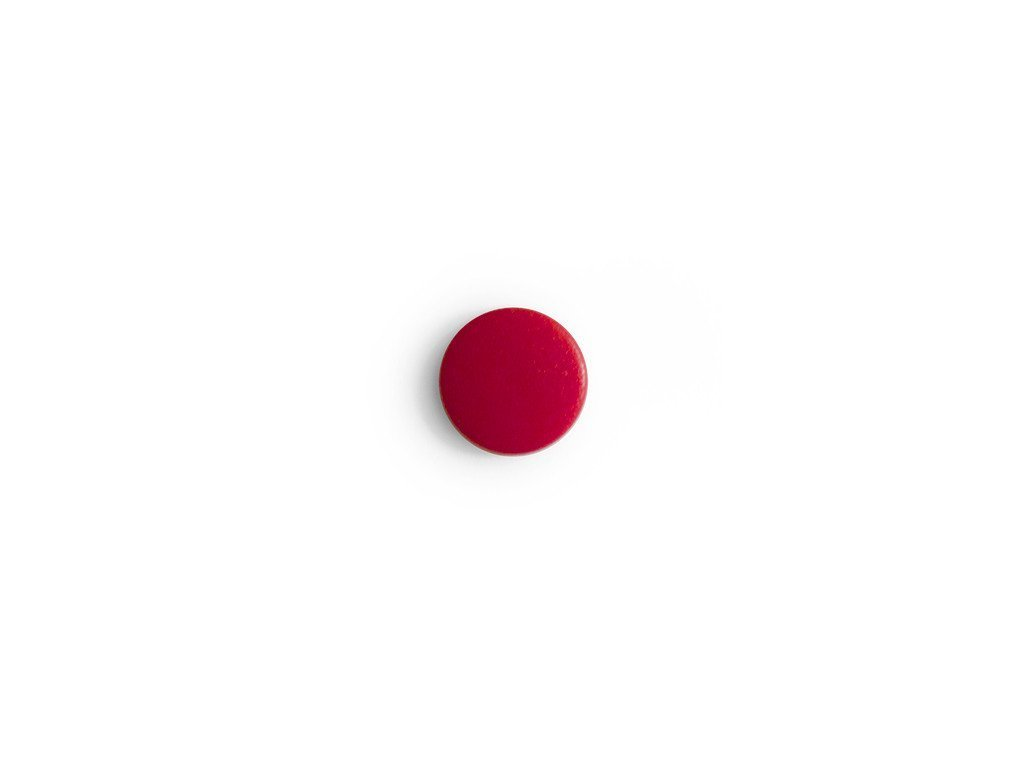 LCM - Bouton Pression ROUGE 11mm