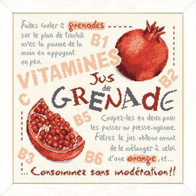 Lilipoints - Jus de Grenade G029