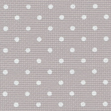 Fen Aïda 7 Points coloris 7349 Gris Pois Blancs