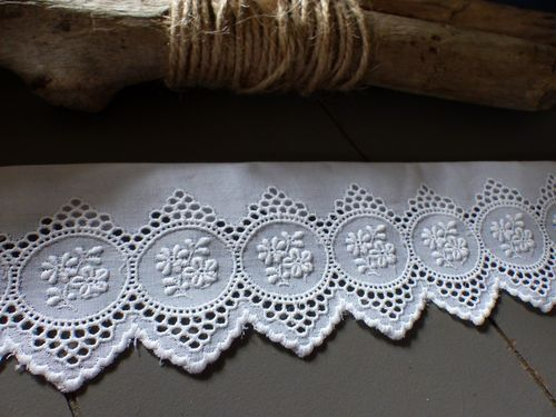 RS - Dentelle Broderie Anglaise 80mm