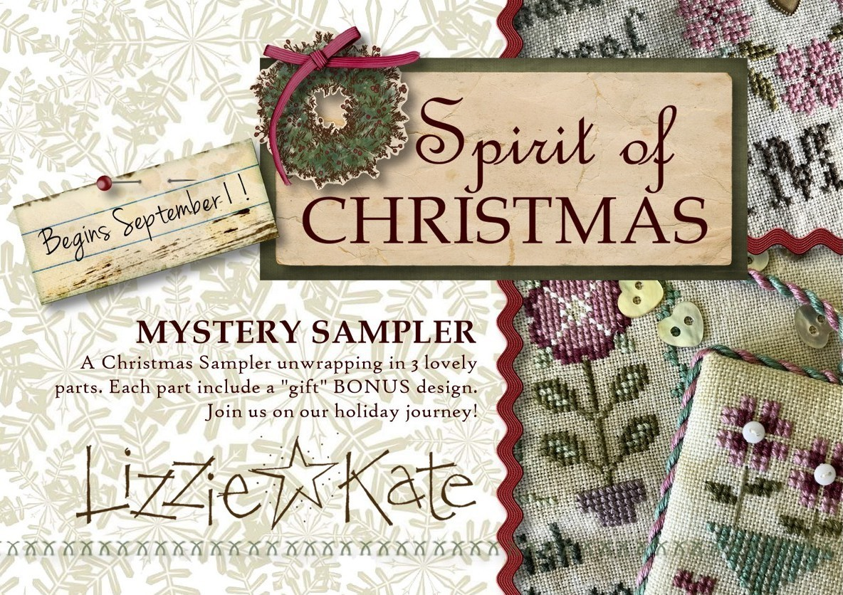 Lizzie Kate - Projet Spririt of Christmas , le Needle Nany