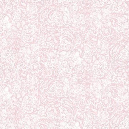 Clothworks - Love song Paisley Pink