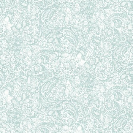 Clothworks - Love song Light Teal
