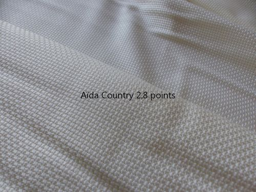 Aïda Country 2.8 pts Zweigart col 11
