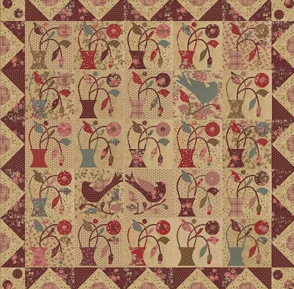patron-patchwork-applique-a-little-flower-blackbird-design