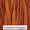 CRESCENT COLOURS Coton - Colonial Copper