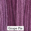 CRESCENT COLOURS Coton - Grape Pie