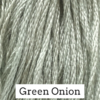 CRESCENT COLOURS Coton - Green Onion