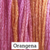 CRESCENT COLOURS Coton - Orangena