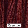 CRESCENT COLOURS Coton - Cayenne