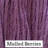 CRESCENT COLOURS Coton - Mulled Berries