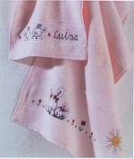Rico Design - Serviette de toilette Coloris Rose Baby