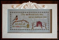 LITTLE HOUSE NEEDLEWORKS - The North Wind