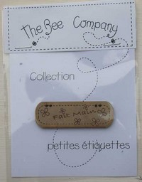 The Bee Company - Etiquette Fait Main TB4