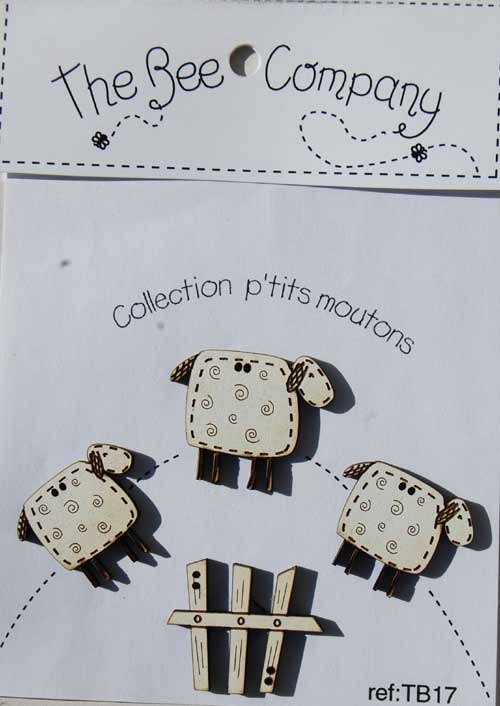 The Bee Company - Collection P'tits Moutons TB17