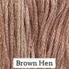 Classic Colorworks - Brown Hen