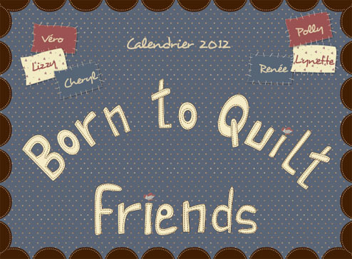 EDS - Born to Quilt Calendrier 2012