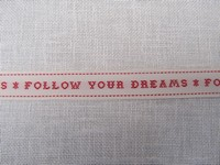 EOI - Galon Follow Your Dreams Réf 3209