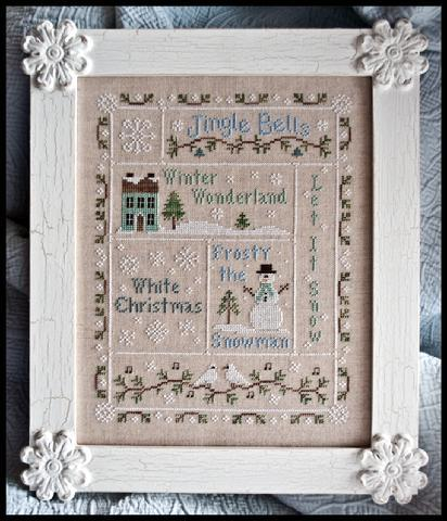 COUNTRY COTTAGE NEEDLEWORKS - Snowflake Serenade