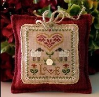 "LITTLE HOUSE NEEDLEWORKS - Little Sheep Virtues ""Love"""