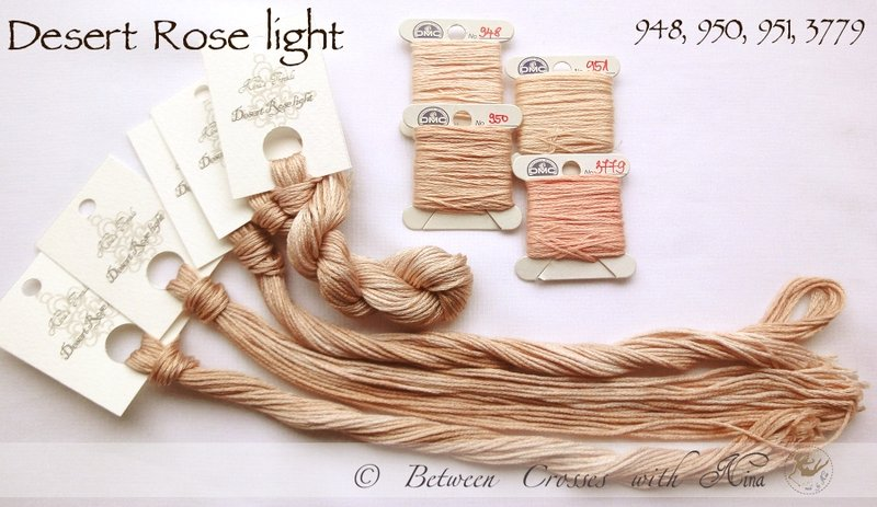 Nina's Thread - Coloris Desert Rose Light