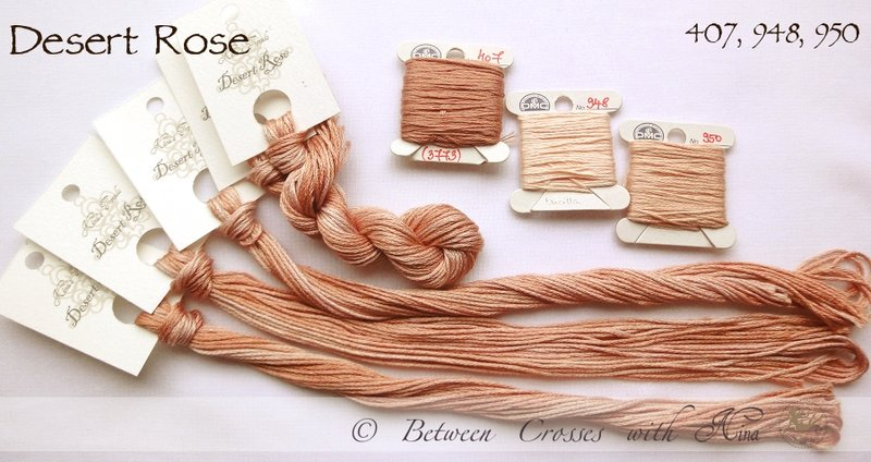 Nina's Thread - Coloris Desert Rose