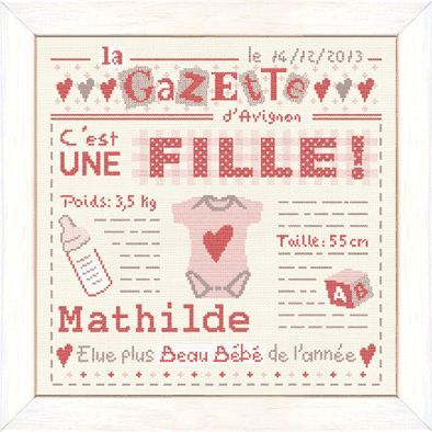 Lilipoints - La Gazette Fille B015