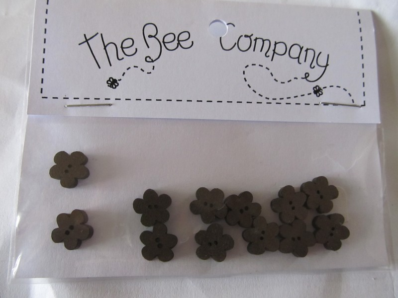 The Bee Company - Mini Fleurs Coloris Chocolat TF7