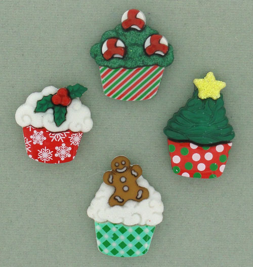 Dress it Up - Christmas Cupcakes 7474