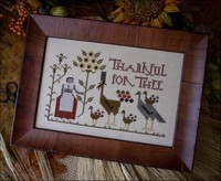Plum Street Samplers - Thankful for Tree