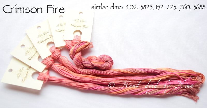 Nina's Thread - Coloris Crimson Fire