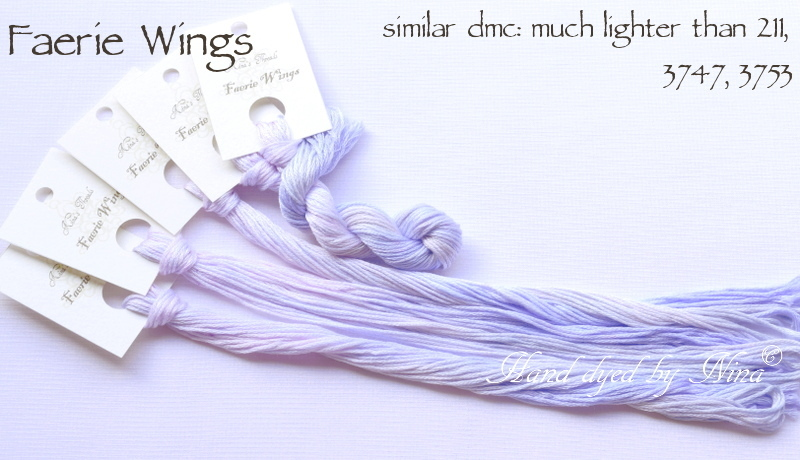 Nina's Thread - Coloris Faerie Wings