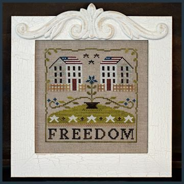 LITTLE HOUSE NEEDLEWORKS - Freedom House