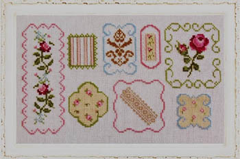 Fallbrook House Needleplay - Shabby Sampler