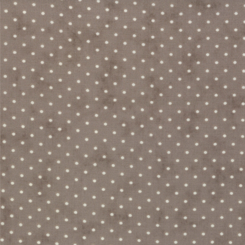 Moda Essential Dots - Coloris Dove (Gris Pigeon)