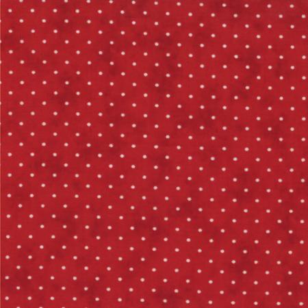 Moda Essential Dots - Coloris Country Red (Rouge Country) 8654 101
