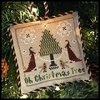 "LITTLE HOUSE NEEDLEWORKS - The Sampler Tree ""Oh Christmas Tree"""